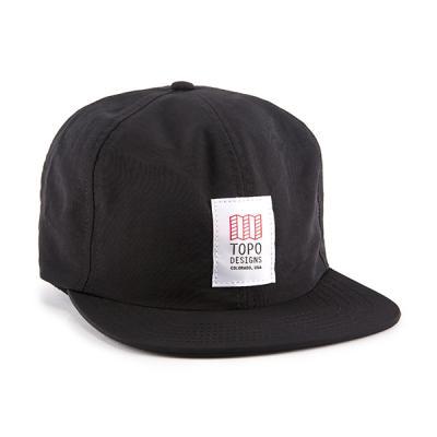 토포디자인 NYLON BLACK TDNBC015 볼캡 모자