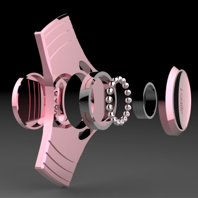 X 메탈 블레이드 피젯 스피너