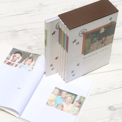 [Nakabayashi] 백일,돌,생일선물에는..480장수납 5권/팩...나카바야시 3단 포켓앨범 Wonder COCO HF482
