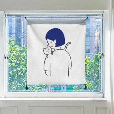 디어 마이펫 패브릭 포스터 / 가리개커튼