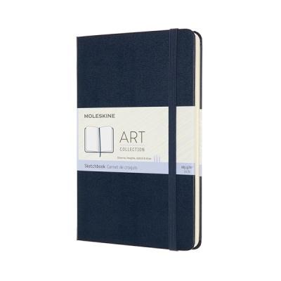 몰스킨 아트컬렉션-스케치북/사파이어 블루 하드 M