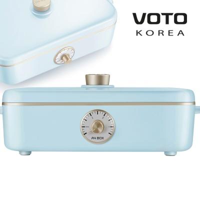 [보토] A4BOX 레트로 전기그릴 테이블 멀티쿠커