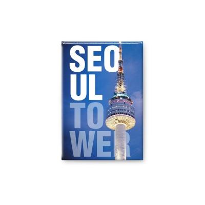 한국 여행마그넷 기념품 N서울타워 영어_인테리어자석