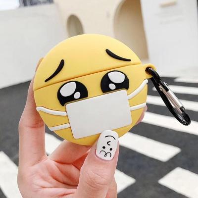 에어팟프로케이스 마스크 얼굴 3세대_ap580 슬픔이pro