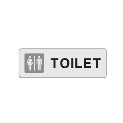 TOILET 화장실 32OZ01 안내 표지판 남자 여자 사인 O