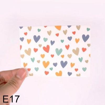 DNF 사랑스러운 하트 편지지 심플러브 E17 1개