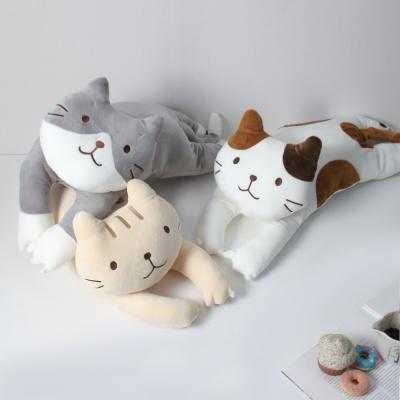 고양이 꿀잠 숙면 베개 쿠션 A타입