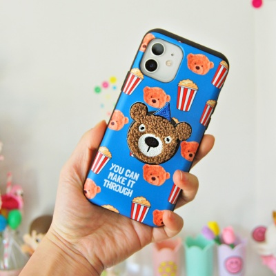 [아이폰 카드범퍼]곰돌이 스마트톡 케이스(5종)