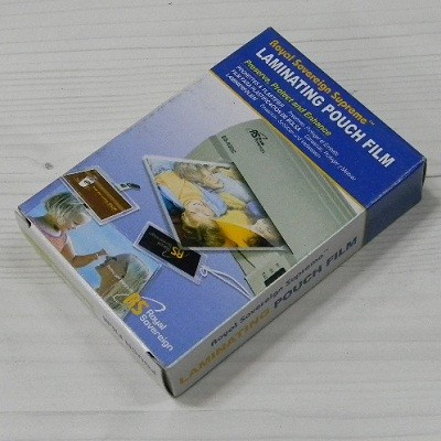 Royal Sovereign 세계인의 코팅지 로얄소브린 Supreme 라미네이팅 파우치 필름 100매팩/소형 신분증용 65*95mm-100mic