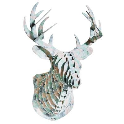 [Wacky Deer] 사슴머리장식 프리즘A