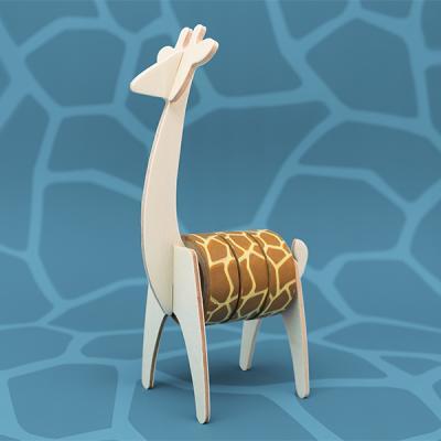 [원더스토어] 럭키스 동물 마스킹 테이프 기린