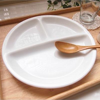 알코록 프랑스 밀키글라스 나눔접시 그릇 접시