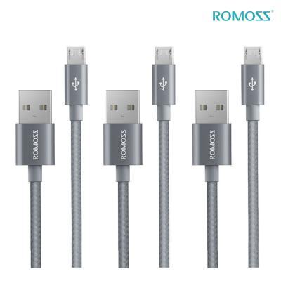 로모스 메탈릭 5핀 고속충전케이블 3개세트