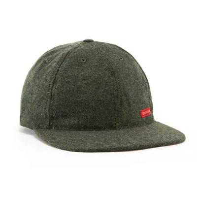 토포디자인 WOOL BALL CAP OLIVE TDBC015