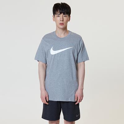 [나이키] 스우시 로고 반팔 티셔츠_BV0621-063