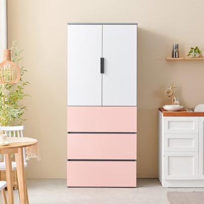 C3395 광폭 냉장고형 하부서랍 수납장 800 6colors