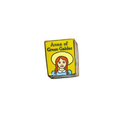[Book pins_005]빨간머리 앤.북뱃지