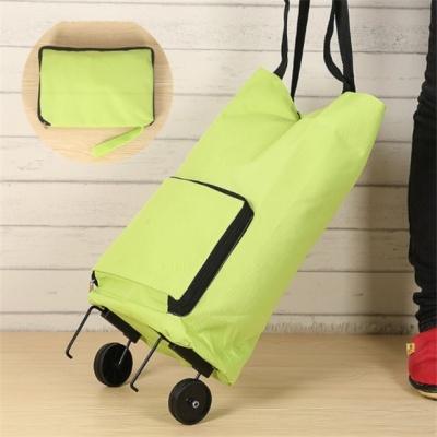 휴대용 접이식 장바구니 캐리어 쇼핑카트