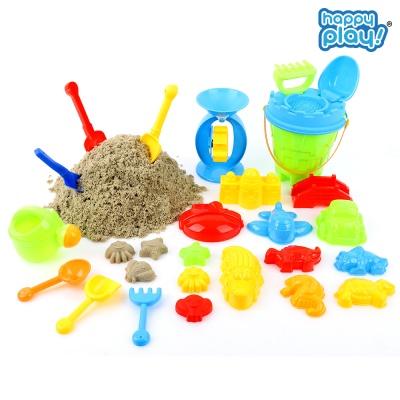 모래놀이세트 25pcs 모래놀이 물놀이 장난감 대용량