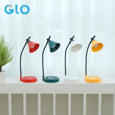 GLO 터치 캔디 충전식 무선 LED스탠드-레드