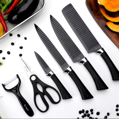 [홈에이드] 블랙에디션 칼가위 6종세트