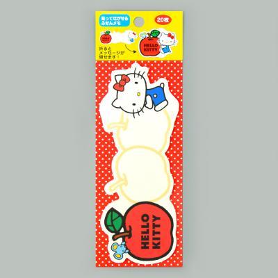 (일본직수입) 헬로키티 3단 포스트잇 (사과)