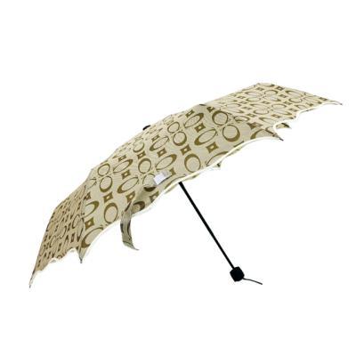 코치 3단우산