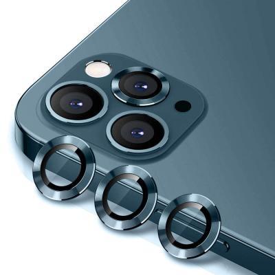 뮤즈캔 아이폰12/12 PRO 카메라 렌즈 메탈링 보호필름