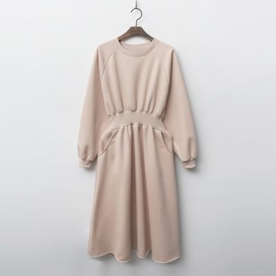 Gimo Fit N Flare Dress - 기모안감