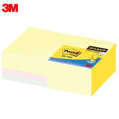 3M 포스트잇 노트 알뜰팩 KR330-10A [00031894]