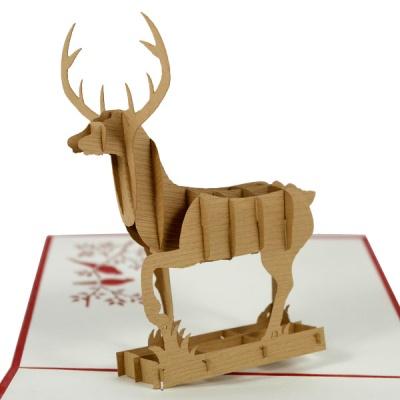 팝업카드 사슴