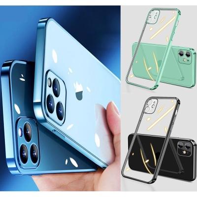 아이폰se2 7 8 플러스 투명 범퍼 카메라보호 케이스