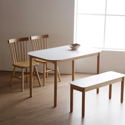 마리 이태리 호마이카 사각테이블 4인식탁
