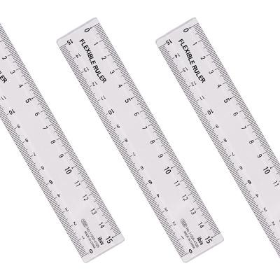 아이비스 1000 구부러지는투명자(15cm) 11255