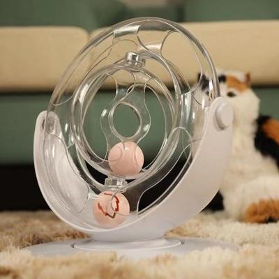 360도회전 스탠딩 고양이 장난감공