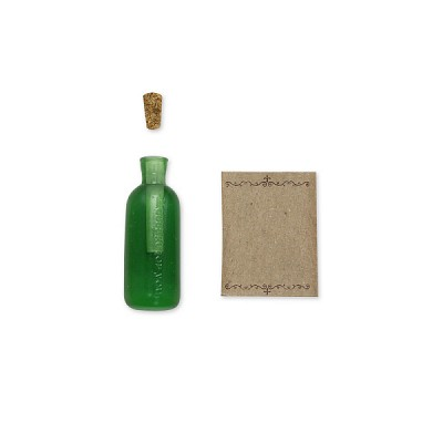 PCM Message Seal - BOTTLE MAIL green (메세지 씰)