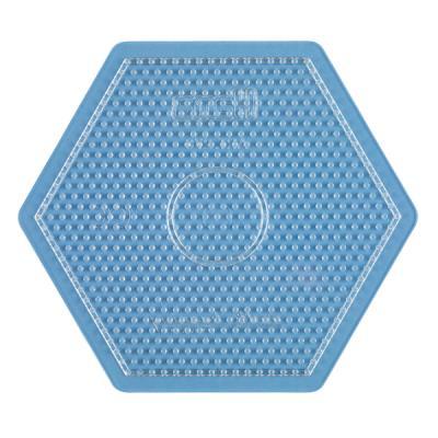 [하마비즈]비즈 투명보드 - 큰육각형
