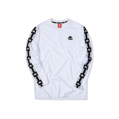 카파 222반다 사이드라인 긴팔 티셔츠 WHITE