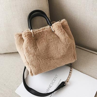 그루브 따뜻한 퍼  털가방 숄더백 크로스백 겨울가방