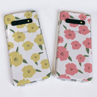 갤럭시S10/S10+/S10E 꽃 패턴 소프트젤리케이스