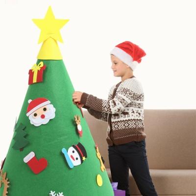 크리스마스 DIY 펠트 스탠딩트리 풀세트