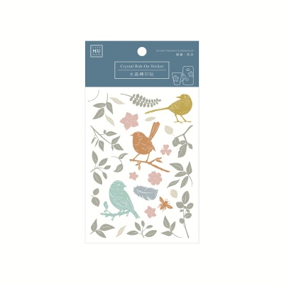 Miccudo 크리스탈 럽 온 스티커 - 07