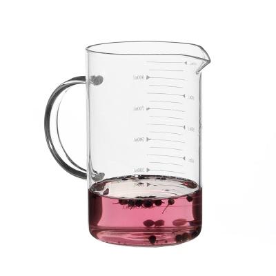 로하티 쿠킹 유리 계량컵(1000ml) / 베이킹 계량비커
