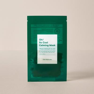[원데이즈유]오 쏘 쿨 카밍 마스크 1box (5매입)