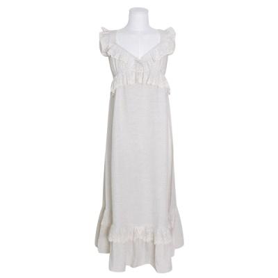 [쿠비카]빅 V넥 바스트 셔링 원피스 여성잠옷 W779