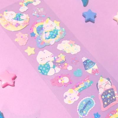 [오 젤리게임]MANTA BOX_트윙클 Dreaming 칼선 스티커