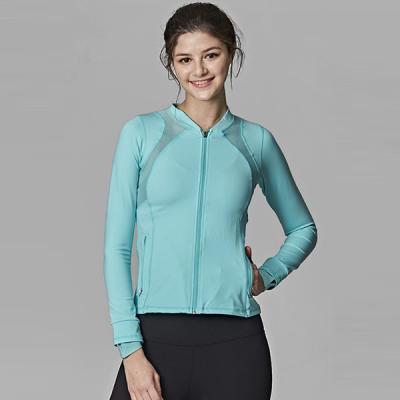 [SKN]SNJK9014 스카이블루 여성 운동복 요가복 자켓