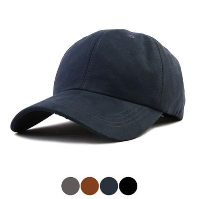 [디꾸보]빅사이즈 스웨이드 단추 볼캡 모자 HN316