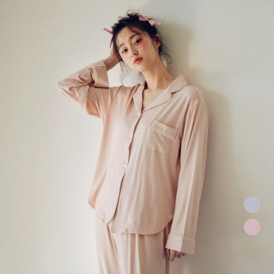 [쿠비카]플레인 모달 투피스 여성잠옷 W419