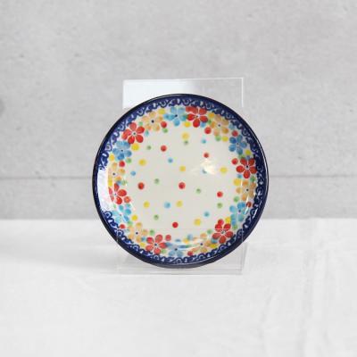 폴란드그릇 아티스티나 원형접시 10cm 패턴2321